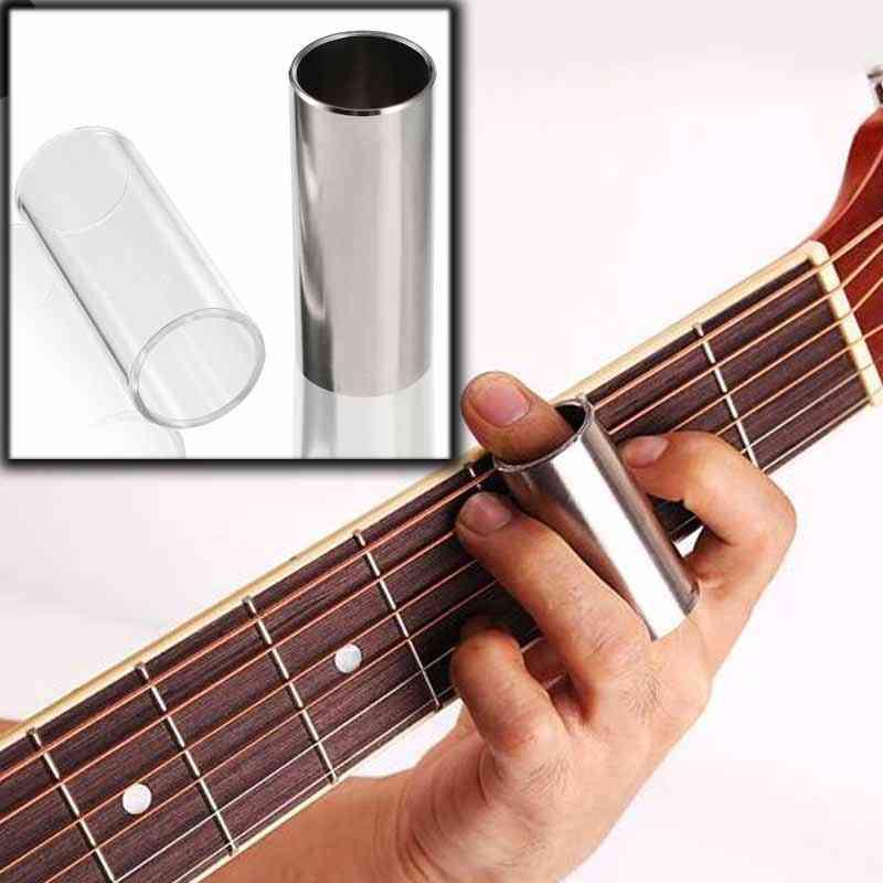Glass Slide Stainless Steel Slide Guitar Guitarra String Finger Tube