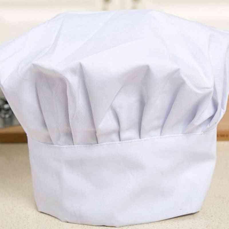 Unisex Chef Waiter Uniform Cap