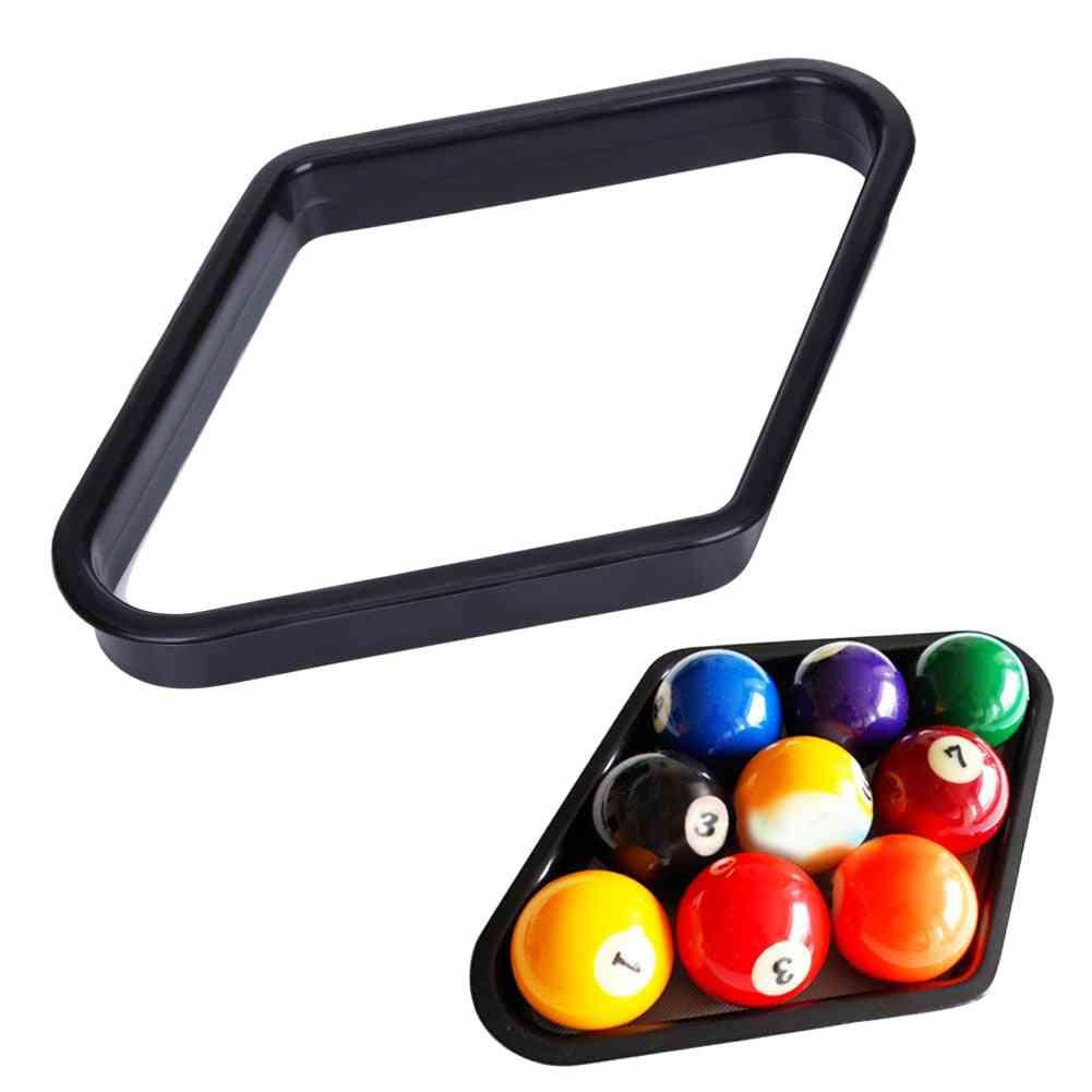 Durable Wear-resistant Billiards Ball Rack Plastic Snooker