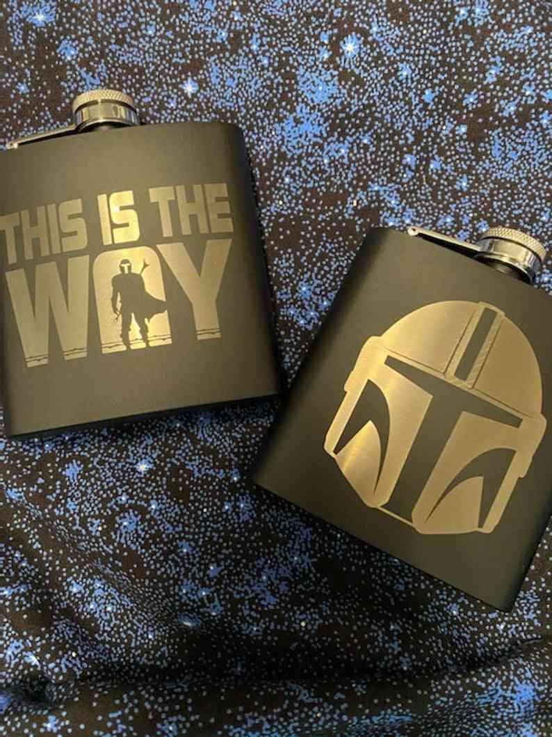 Mandalorian Flasks