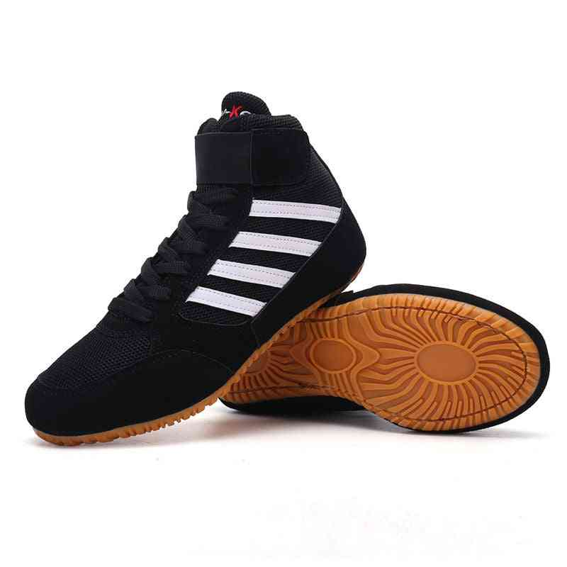 Professional Men's Boots, Wrestling Wearable Gym Shoes
