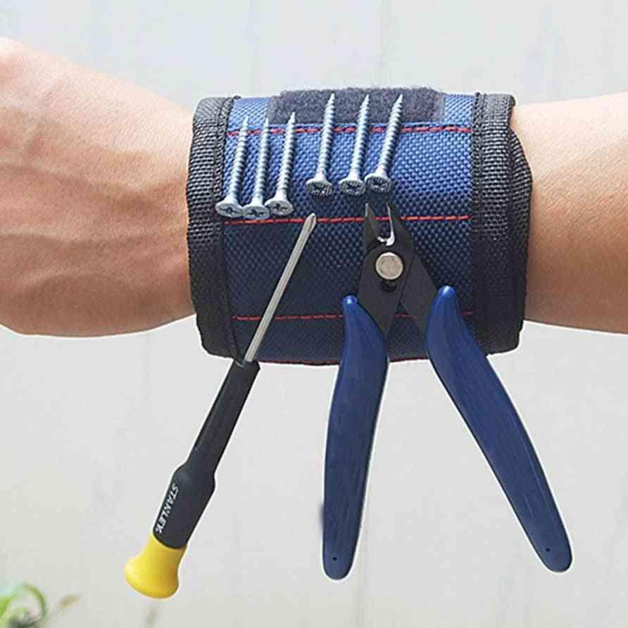 Wristband Woodworking Electrician Wrist Tool Belt