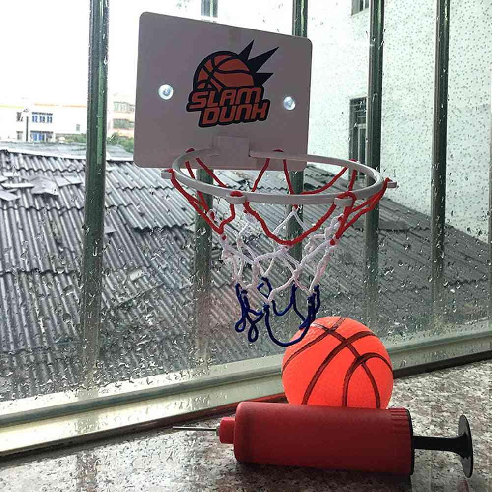 Mini Basketball Box Set Backboard Hoop Netball Board