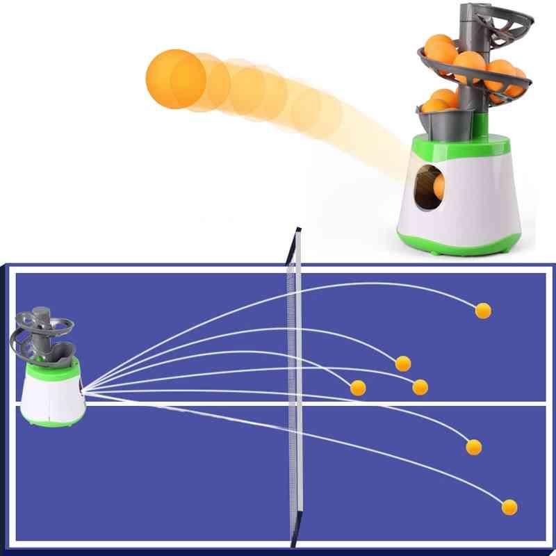 Mini Table Tennis Robot Service Pitching Machine