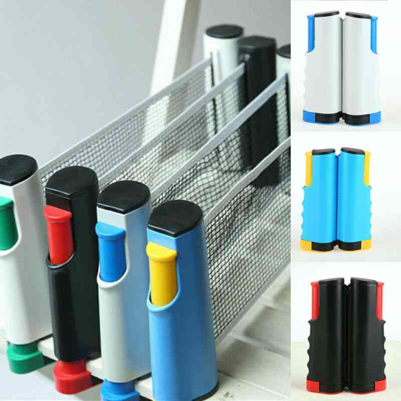 Anywhere Retractable Ping Pong Table Tennis Net