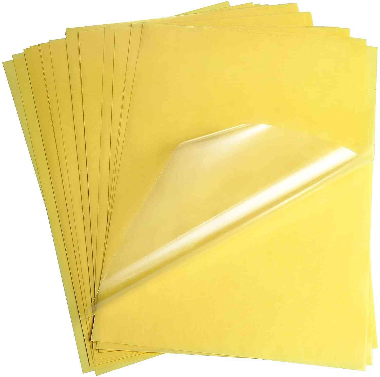 Printer Self Adhesive Transparent Paper Label Sticker For Laser Printer