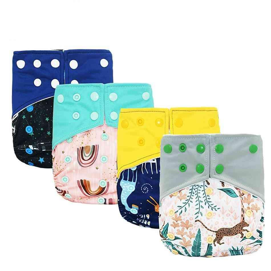 Diaper Washable Cloth Diaper Adjustable Baby Nappy Reusable Pocket Diaper