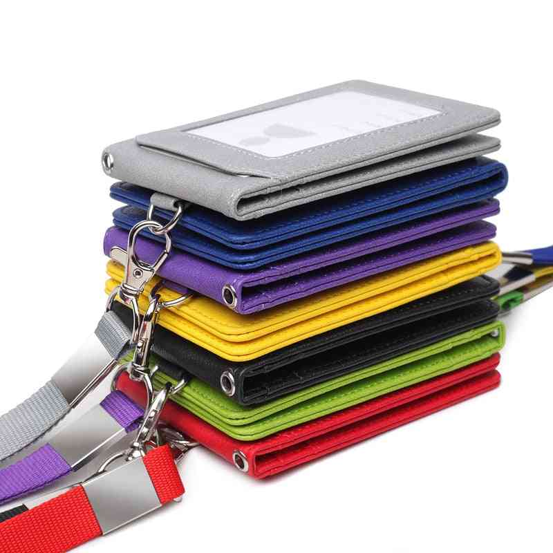 Card Holder Neck Strap With Lanyard