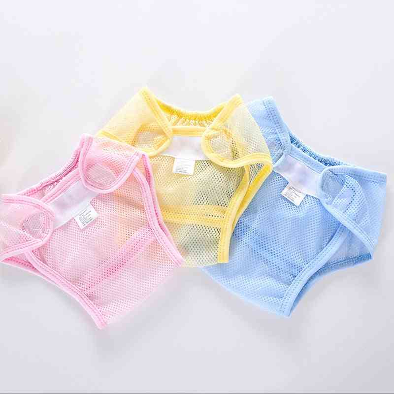 New Mesh Pocket Nappy Newborn Diapers Infant Cotton Liner Baby Diapers