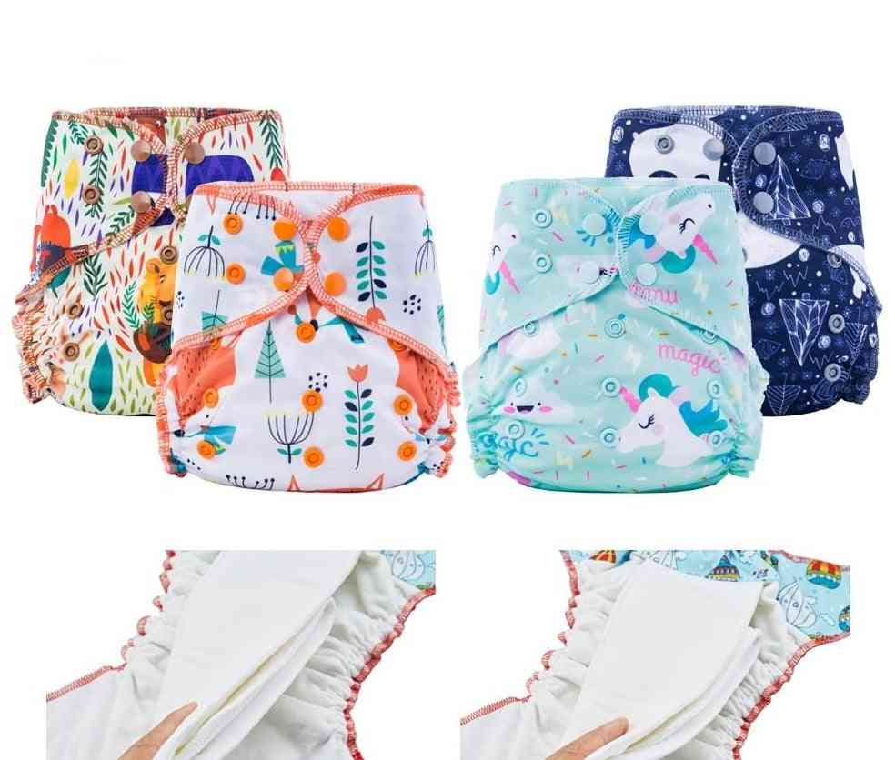 Happy Bamboo Cotton Overnight Cloth Diaper Night Use Heavy Wetter Baby Diapers