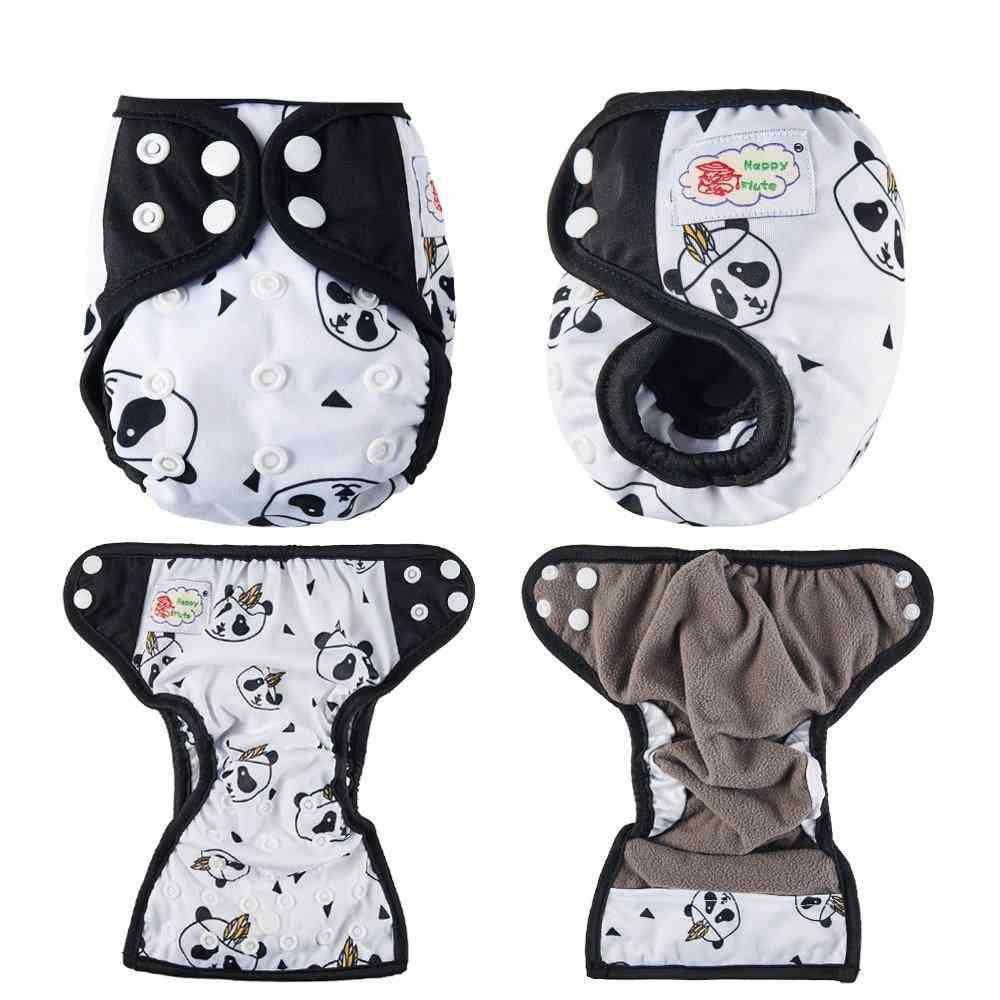 Newborn Pocket Diaper Cloth Diapers Bamboo Charcoal Inner Waterproof