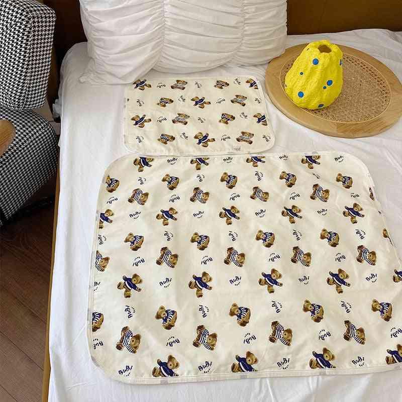 Kids Mattress Cartoon Litttle Bear Cotton Cute Mattresses