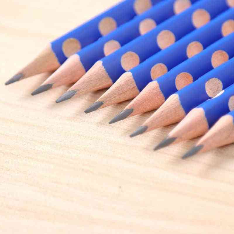 Triangle Wooden Pencil School Office Stationery
