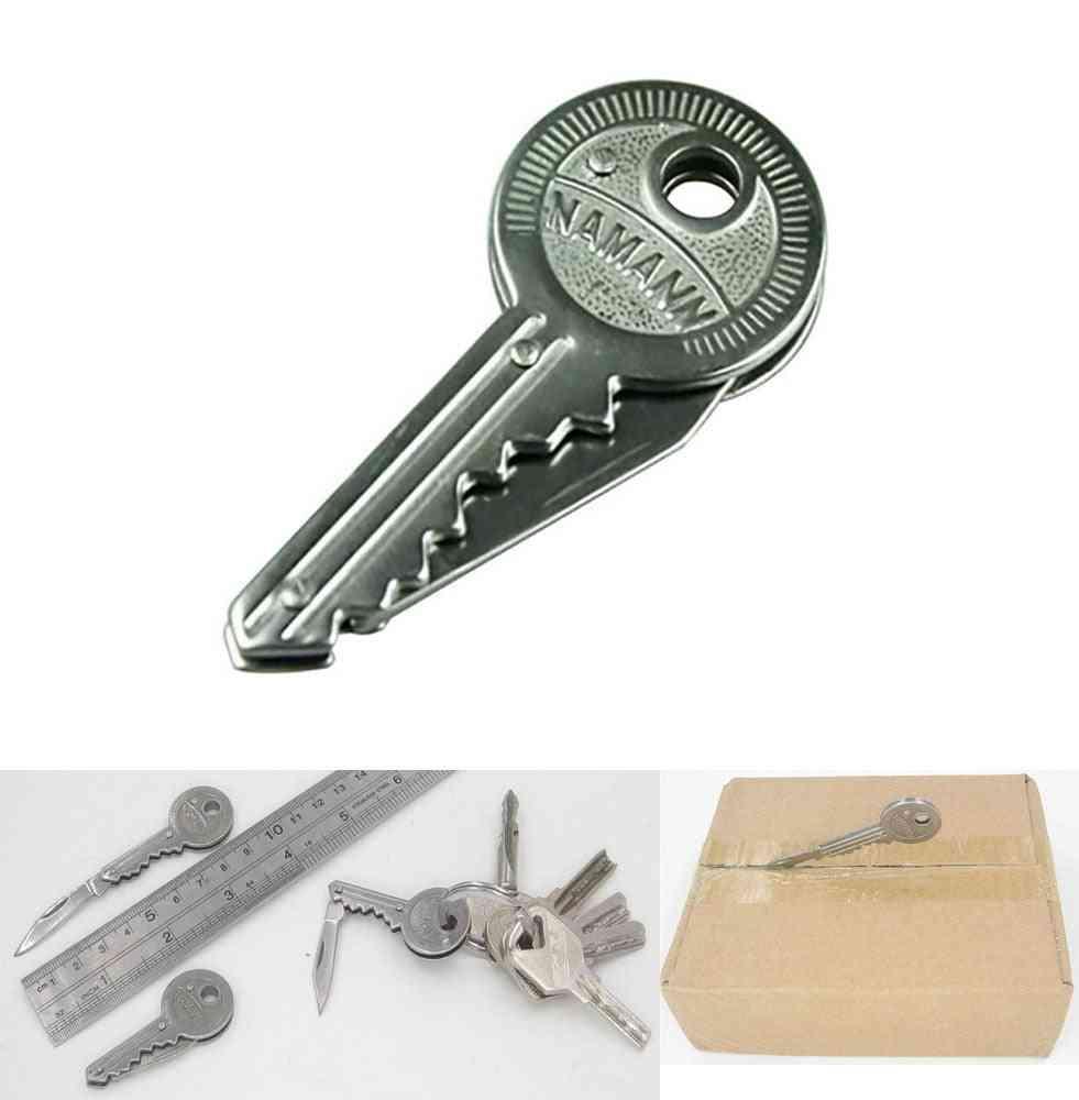 Mini Blade Fold Key Knife Pocket Tool Peeler Letter Opener