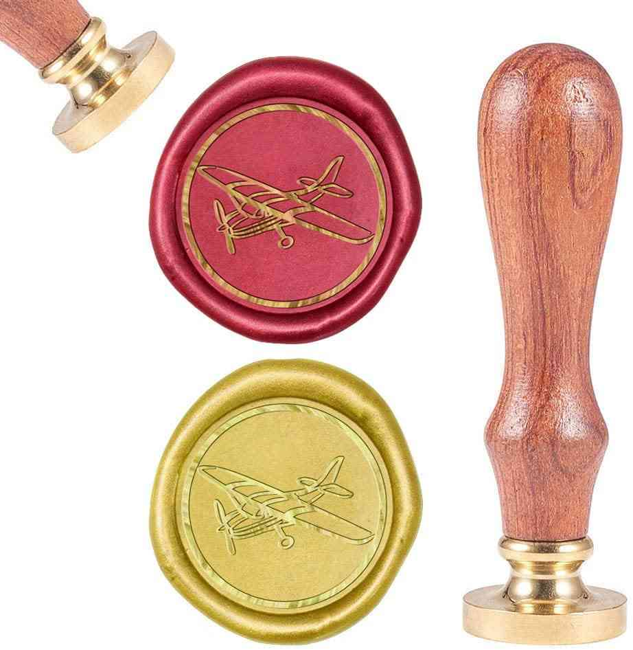 Sealing Wax Stamps Retro Wood Stamp Ecoration Wrapping
