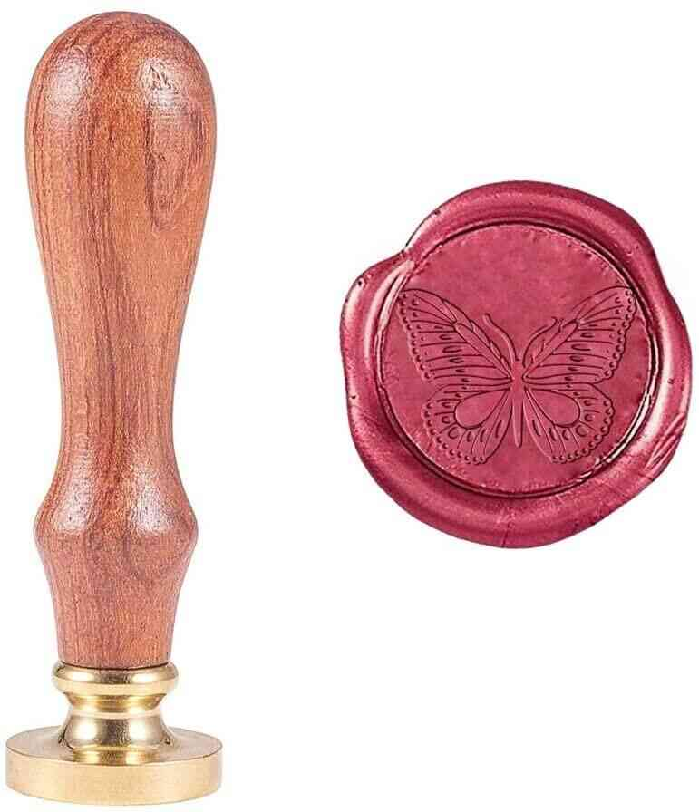 Butterfly Wax Seal Stamp Vintage Retro Butterfly Sealing Stamp