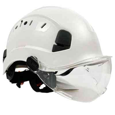 Safety Helmet With Goggles