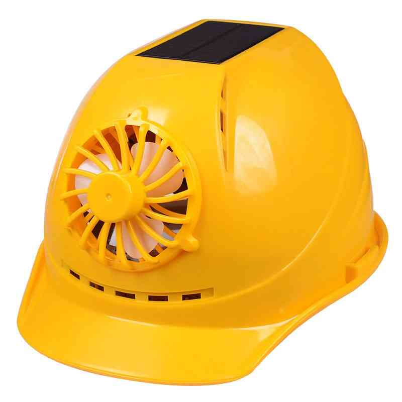 Solar Power Safety Helmet