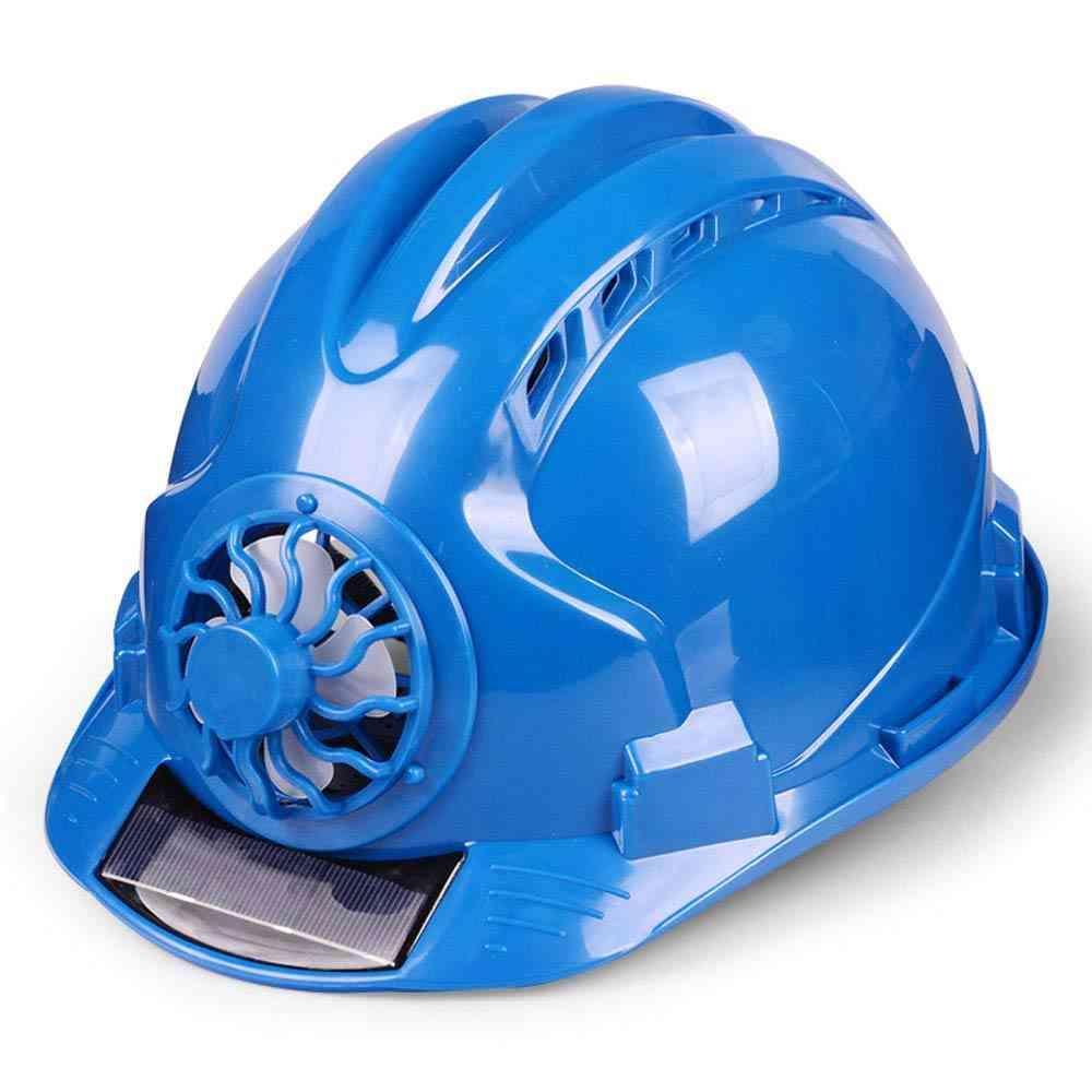 Solar Power Fan Helmet