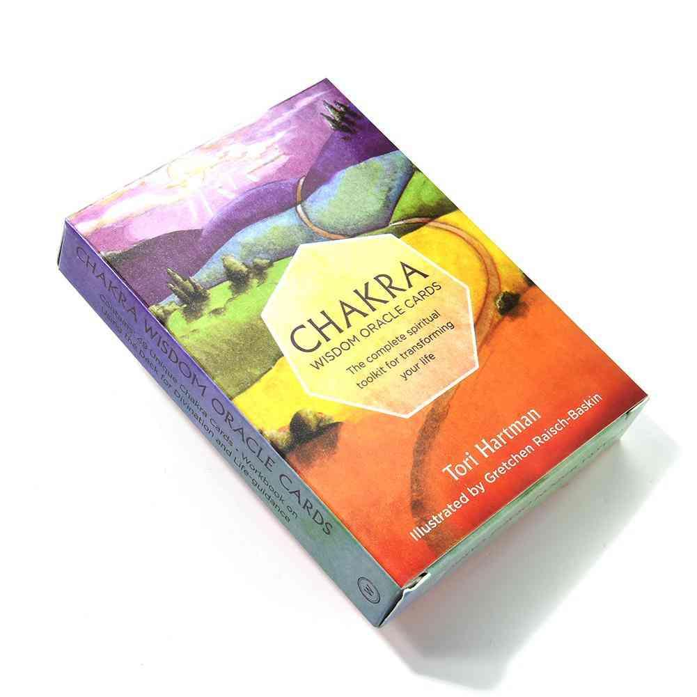 Chakra Tarot Card  Pdf Oracle Cards Divination