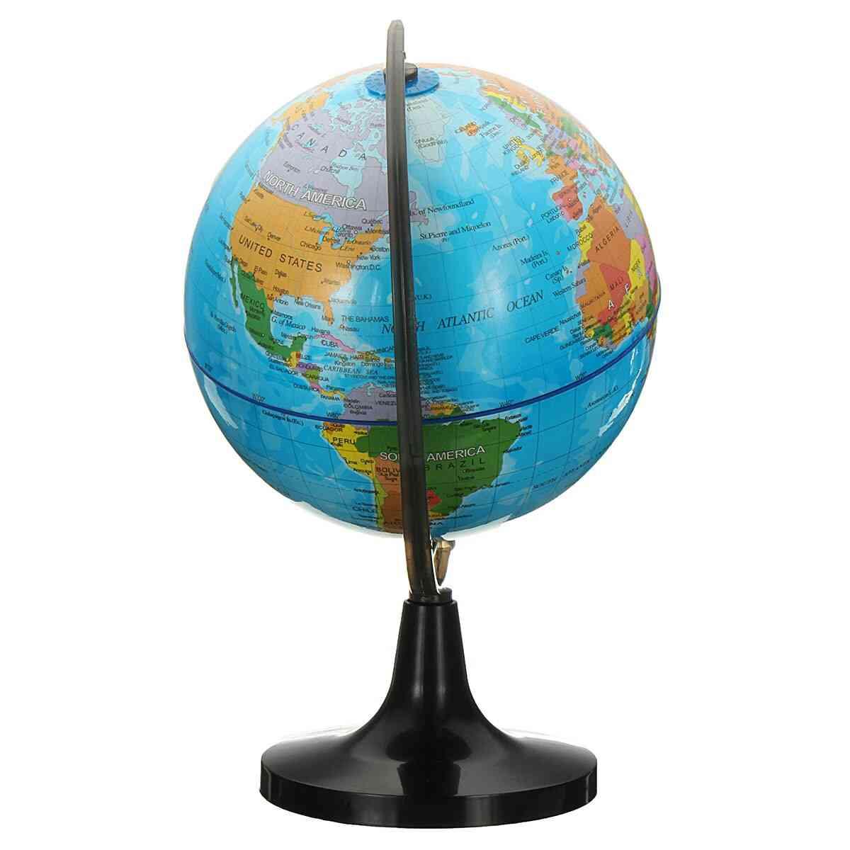 14cm Globe World Earth Tellurion Terrestre Globe World Map With Stand