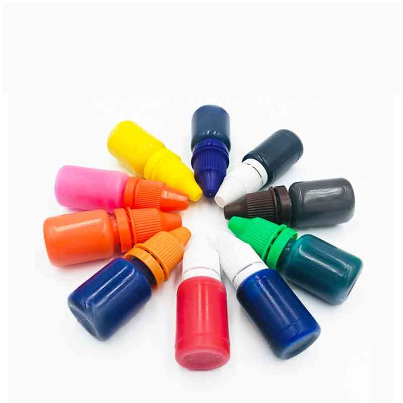 Colorful Ink For Photosensitive Flash Stamp Diy Inkpad