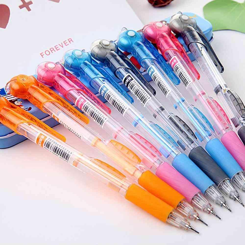 Transparent Mechanical Pencils With Eraser Random