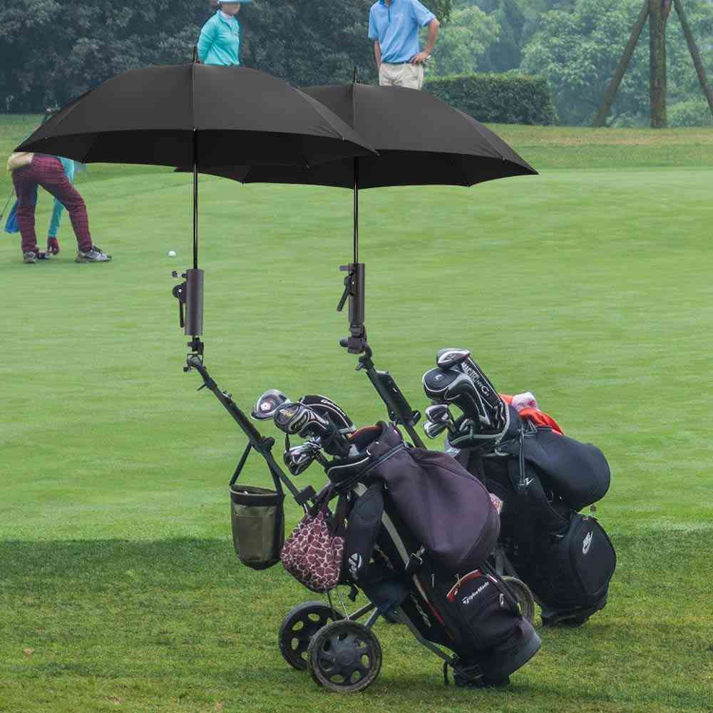Double Lock Connector Adjustable Angle Lock Umbrella Stand Golf Cart