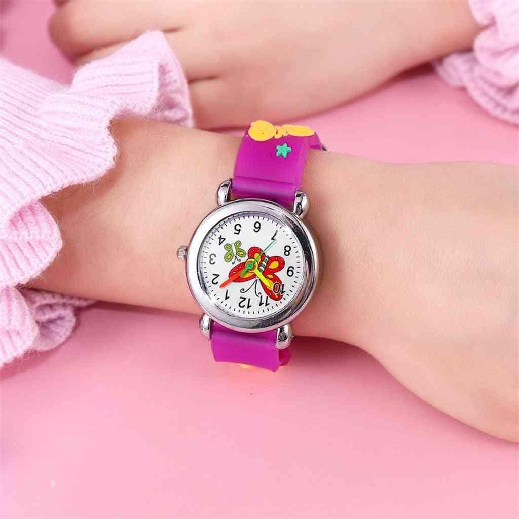 Kids Quartz Wrist Watches Princess Kids Watches