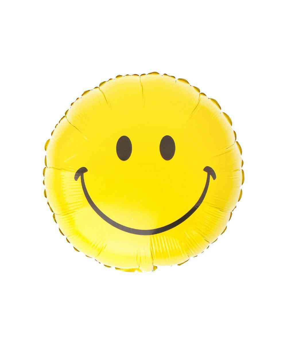 Mylar Smiley Face Balloon