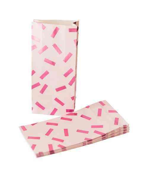 Pretty In Pink Confetti Bags