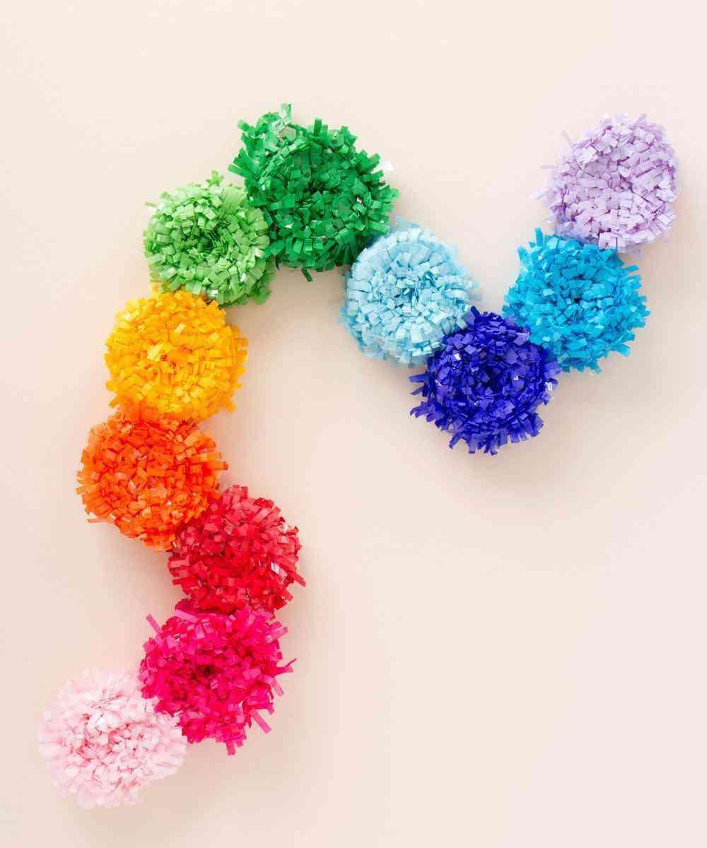 Festive Festooning Rainbow