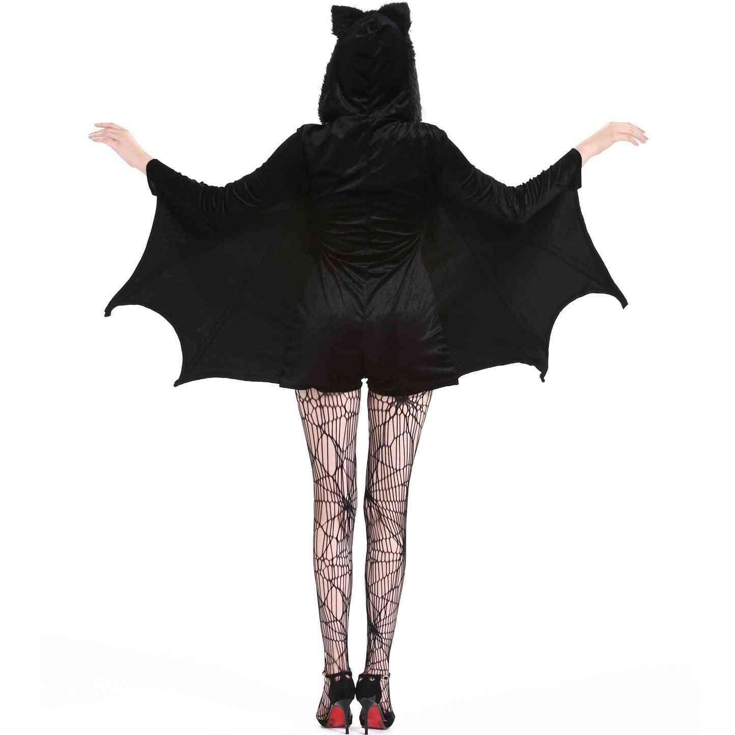 Halloween Costume Cosplay Bat Vampire