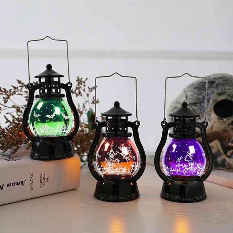 Halloween Retro Small Oil Lamp Halloween Decoration For Home