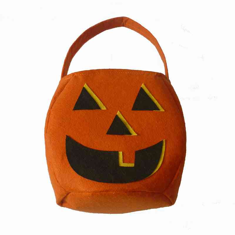 Halloween Candy Bag Candy Box Orange Color