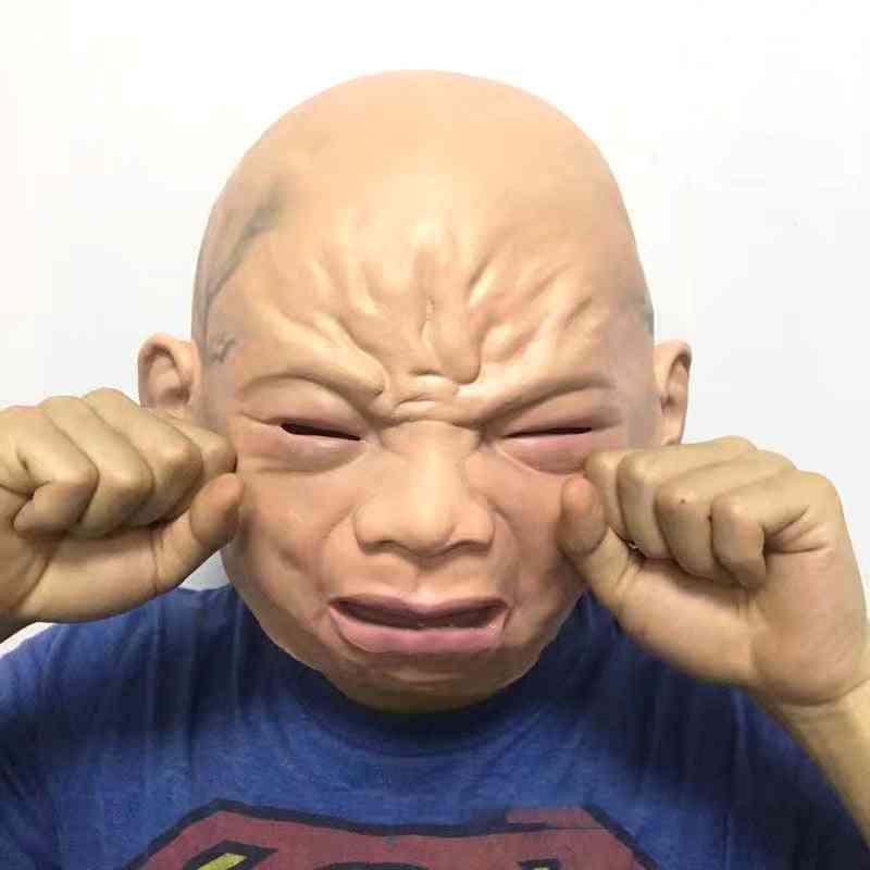 Latex Cry Baby Mask Halloween Mask