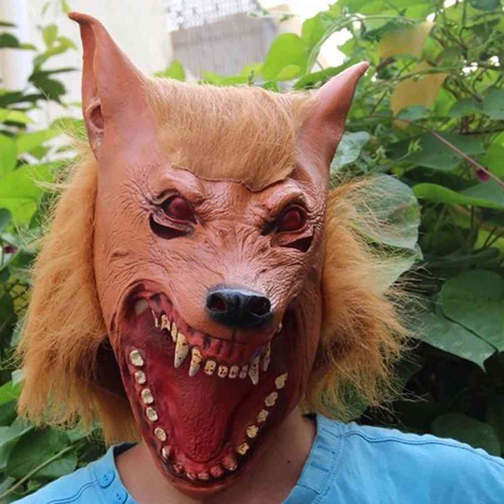 Halloween Latex Mask