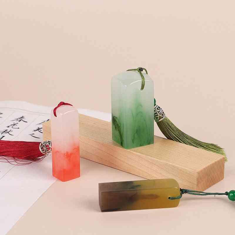 Resin Seal Carving Material 6 Colors
