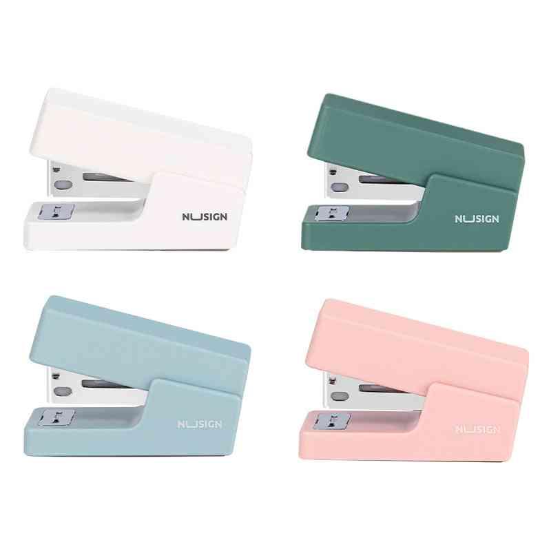 Mini Morandi Color Metal Stapler Set