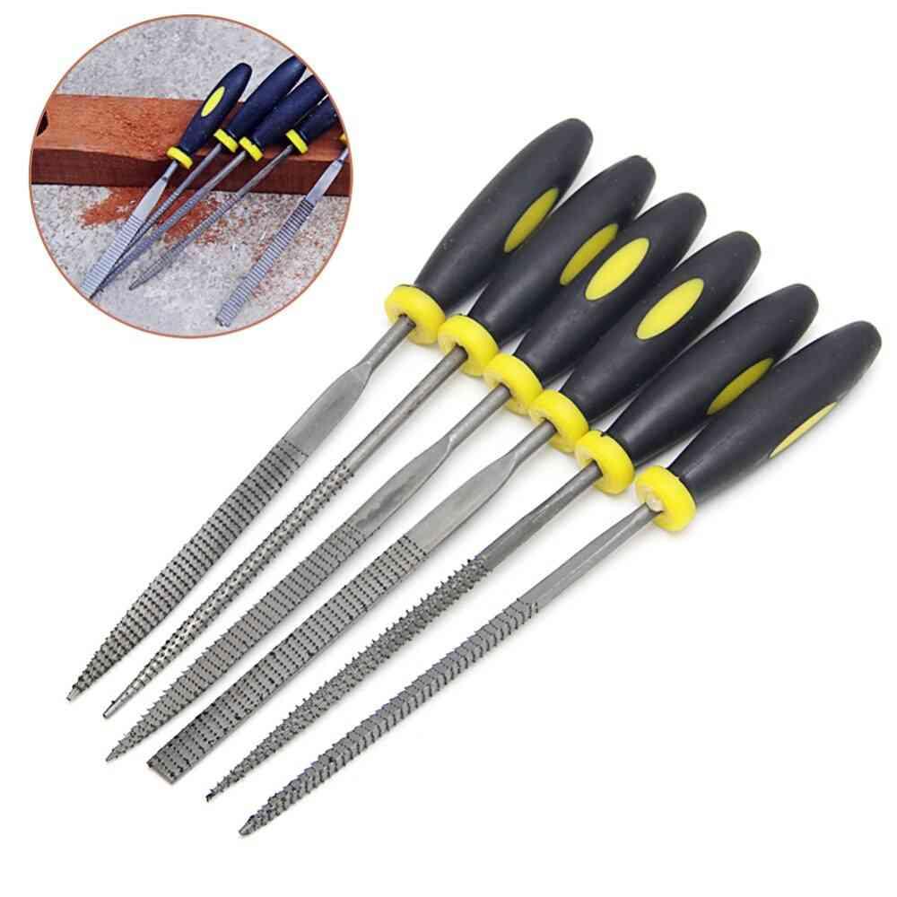 Metal Filing Rasp Needle File Wood Tools