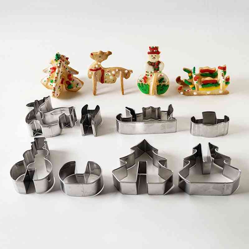 Christmas 3d Cookie Mould