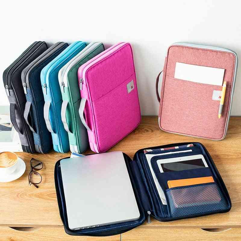 Waterproof Oxfored A4 File Folder Document Bag