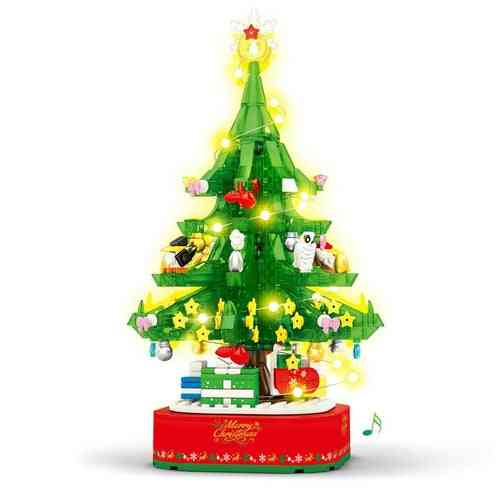 Christmas Tree Building Blocks