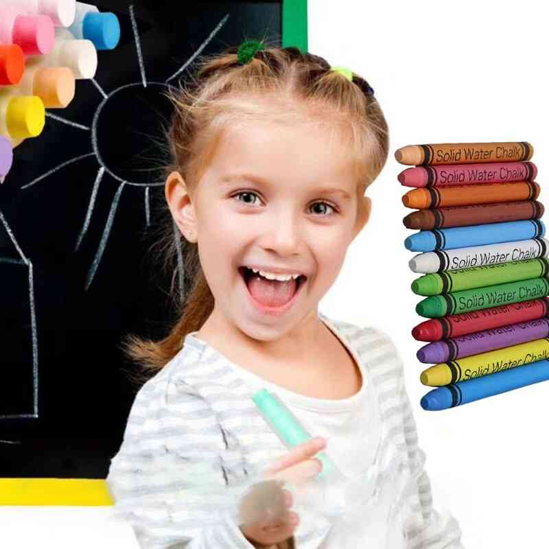 Non-toxic Water Drawing Painting Soild Chalks