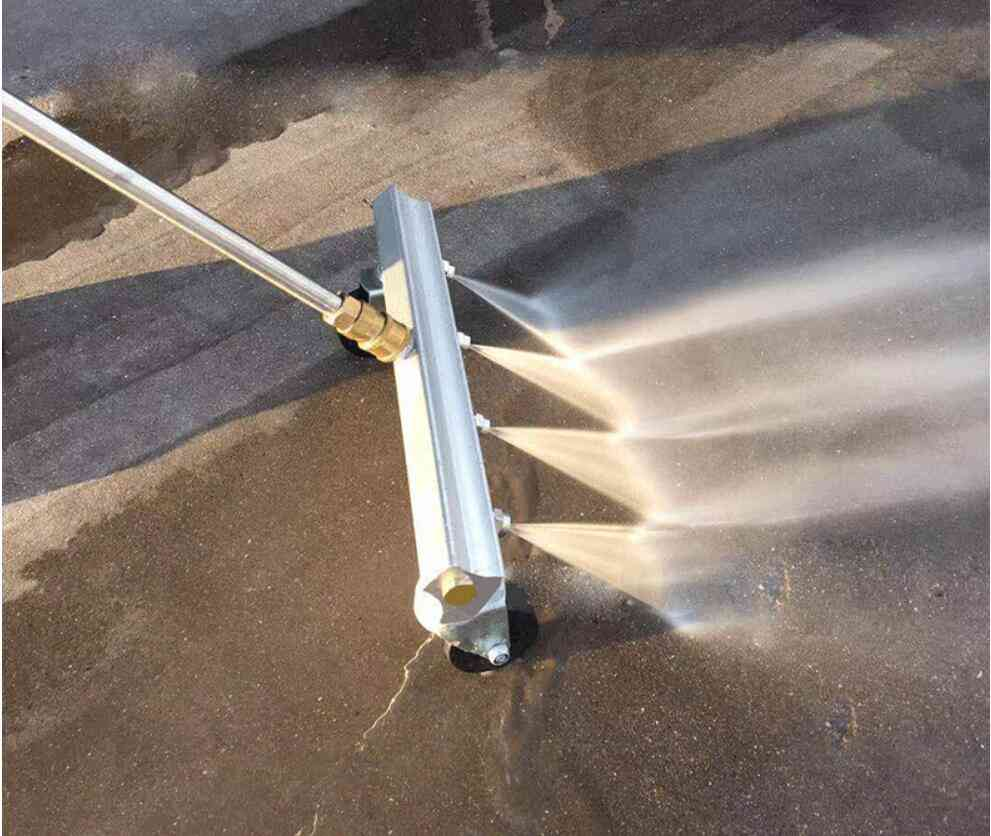 Car Care Cleaning Nozzle Under Body Chassis Water Broom High Pressure
