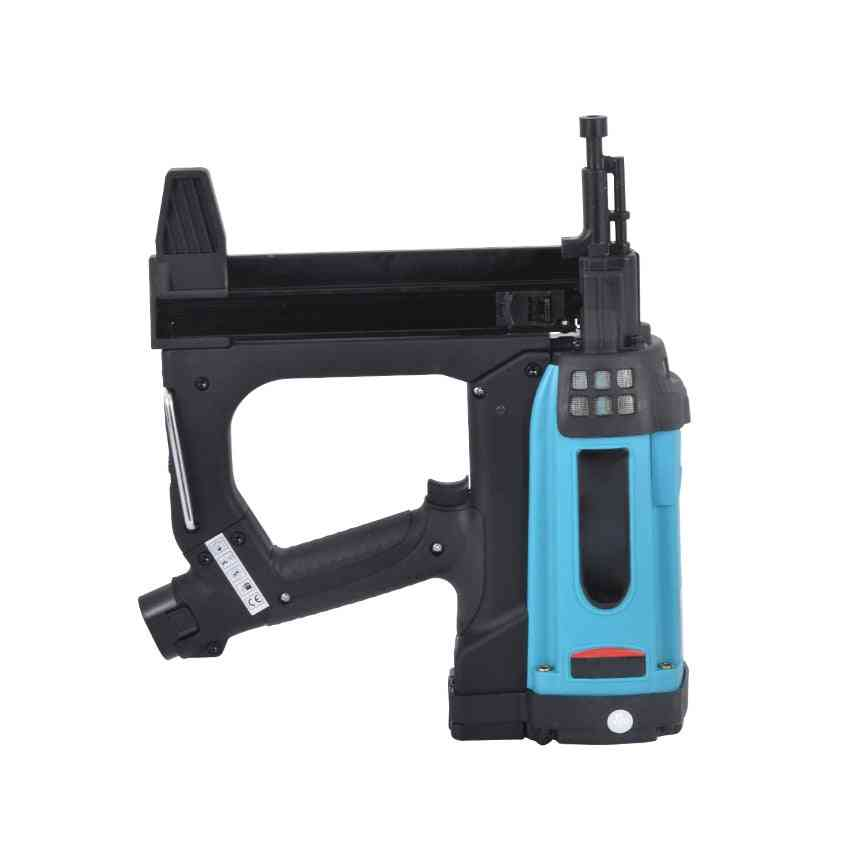 Gsr40 Pneumatic Nail Gun Lithium Battery Gas Nail Gun Steel Air Stapler Pneumatic Tools For Frame And Trunking 110-220v