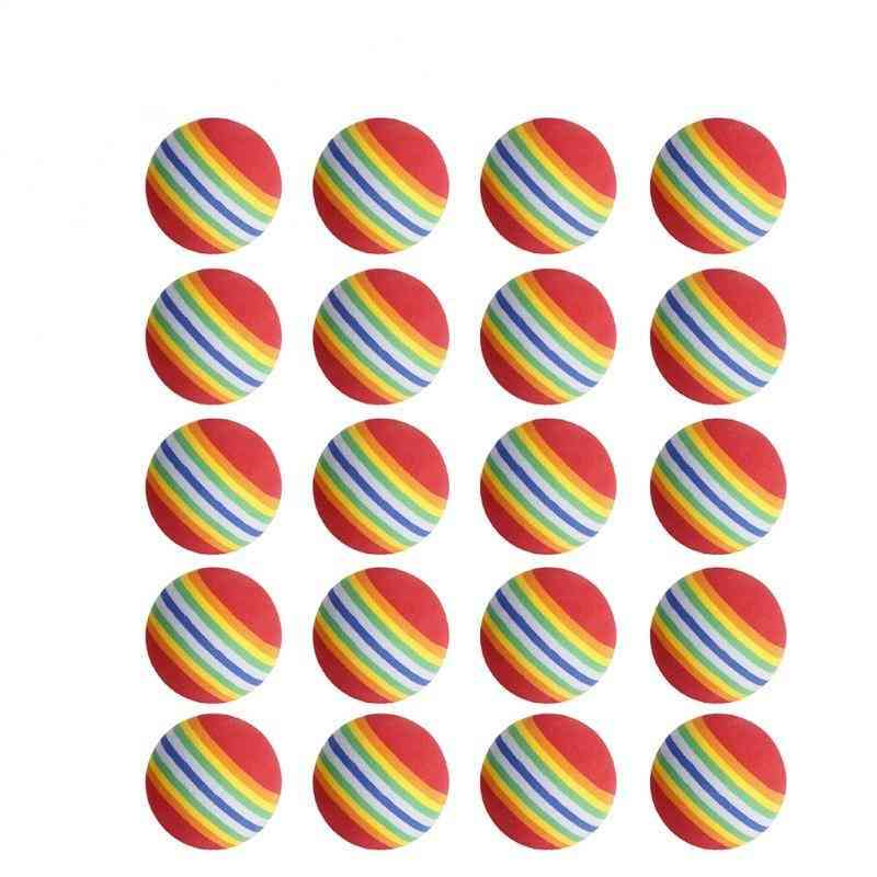 Golf Soft Rainbow Balls