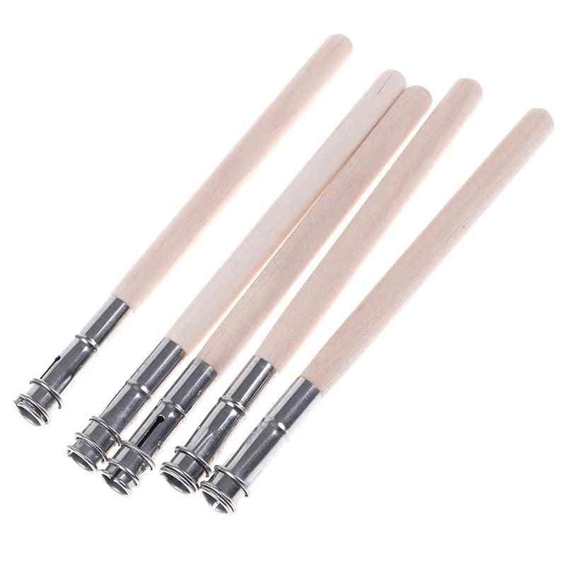 5pcs Pencil Extender Adjustable Wooden Lengthener