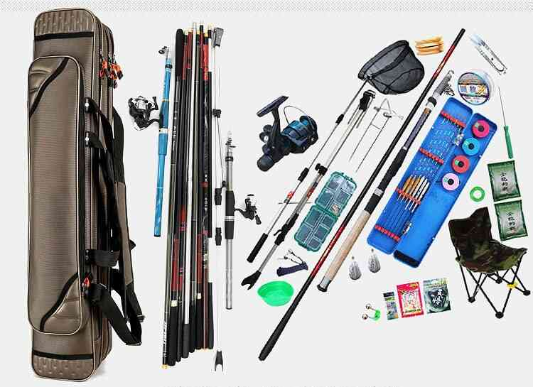 Outdoor 3 Layer Fishing Rod Bags