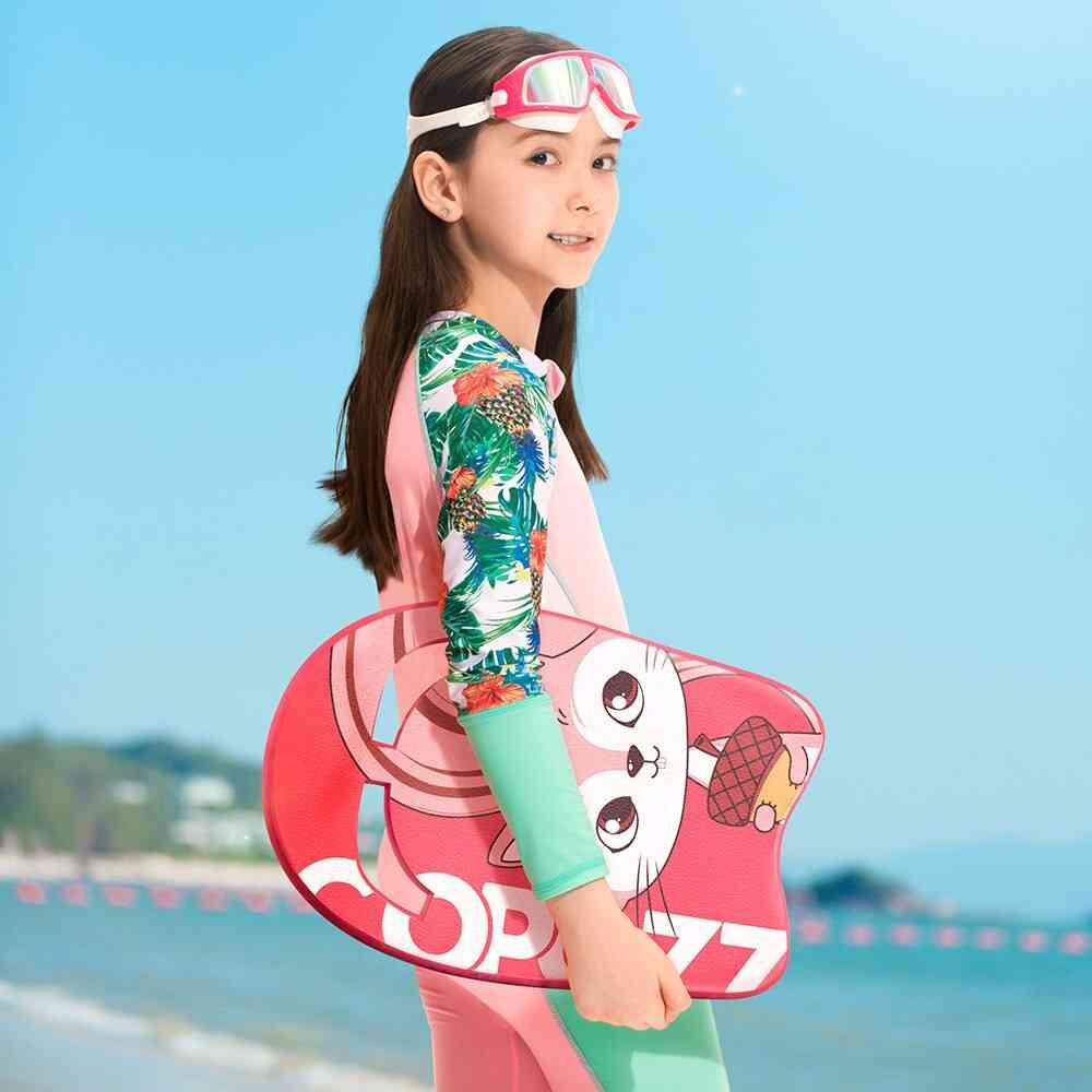 Swimming Kickboard, Floating Plate Safe Training Aid Tools